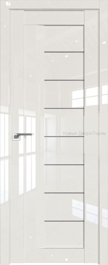 17 L Магнолия люкс глянцевая дверь - PROFIL DOORS двери