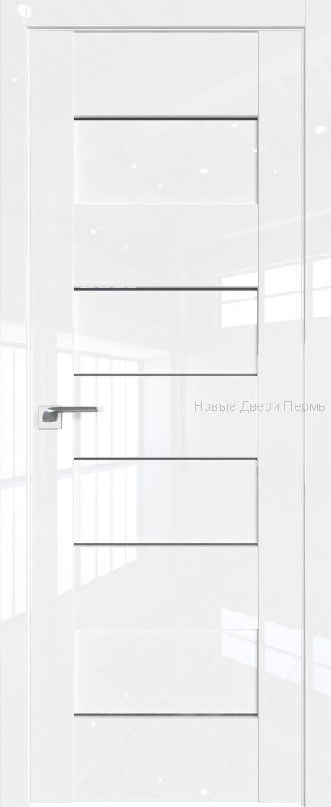 45L Белый люкс глянцевая дверь - PROFIL DOORS двери