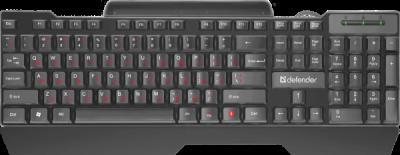 НОВИНКА. Проводная клавиатура Search HB-790 RU,черный,полноразмерная
