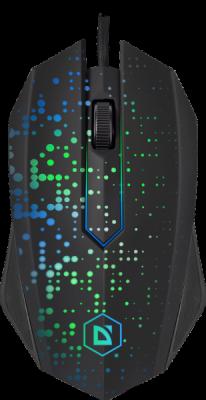 НОВИНКА. Проводная оптическая мышь Event MB-754 7цветов,3кнопки,1000dpi,черный