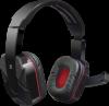 Игровая гарнитура Warhead G-260 красный + черный, кабель 1,8 м