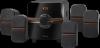 Акустическая 5.1 система Cinema 64 64Вт, BT/FM/MP3/SD/USB/LED/RC