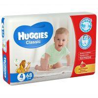 "Huggies ""Classic 4"" 68 шт."