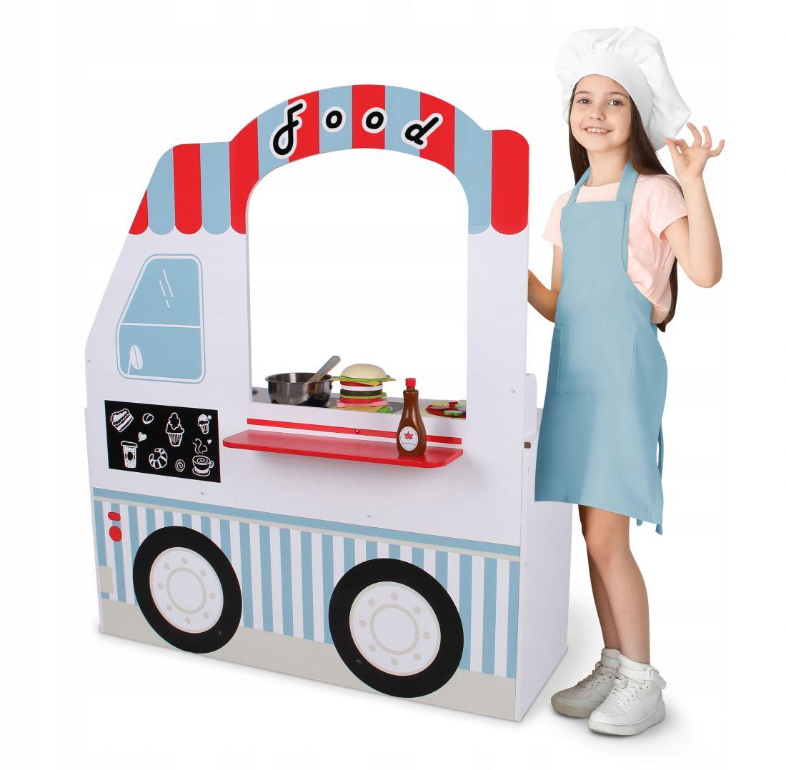 Кухня для детей деревянная ECOTOYS 7260