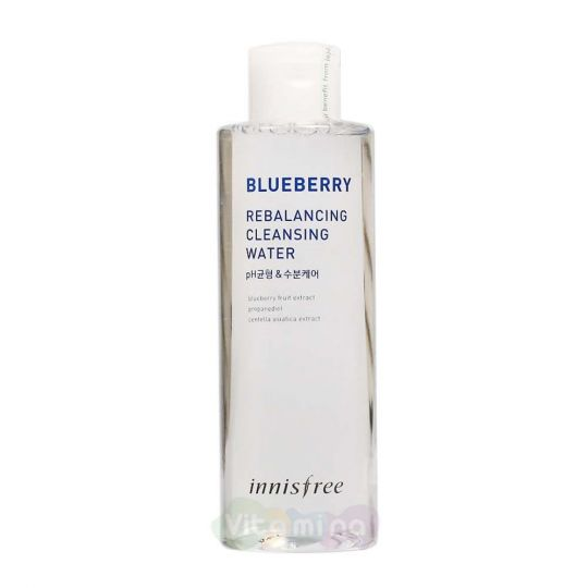 Innisfree Балансирующая очищающая вода Blueberry Rebalancing Cleansing Water, 200 мл