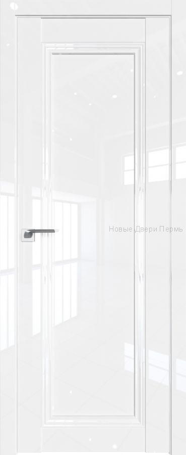 2.100 L Белый люкс глянцевая дверь - PROFIL DOORS двери
