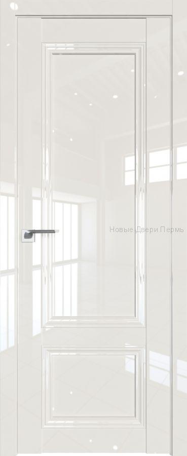 2.102 L Магнолия люкс глянцевая дверь - PROFIL DOORS двери