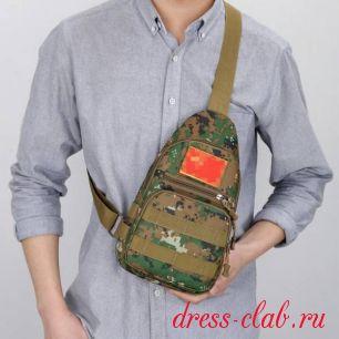 Сумка мужская текстиль