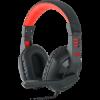 Игровая гарнитура Ares красный + черный, кабель 2 м