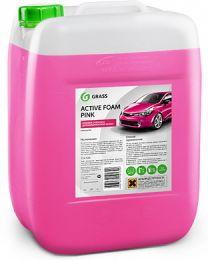 Шампунь (активная пена) для бесконтактной мойки автомобиля Grass Active Foam Pink 23кг цена, купить в Челябинске/Автохимия и автокосметика