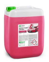 Шампунь для бесконтактной мойки автомобилей Grass Active Foam Optima (20кг) цена, купить в Челябинске/Автохимия и автокосметика