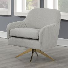 Кресло TURNER вращающееся светло-серое