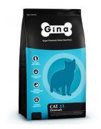 Gina Cat 33 Denmark Полнорационный сбалансированный корм для активных и выставочных кошек, 3кг