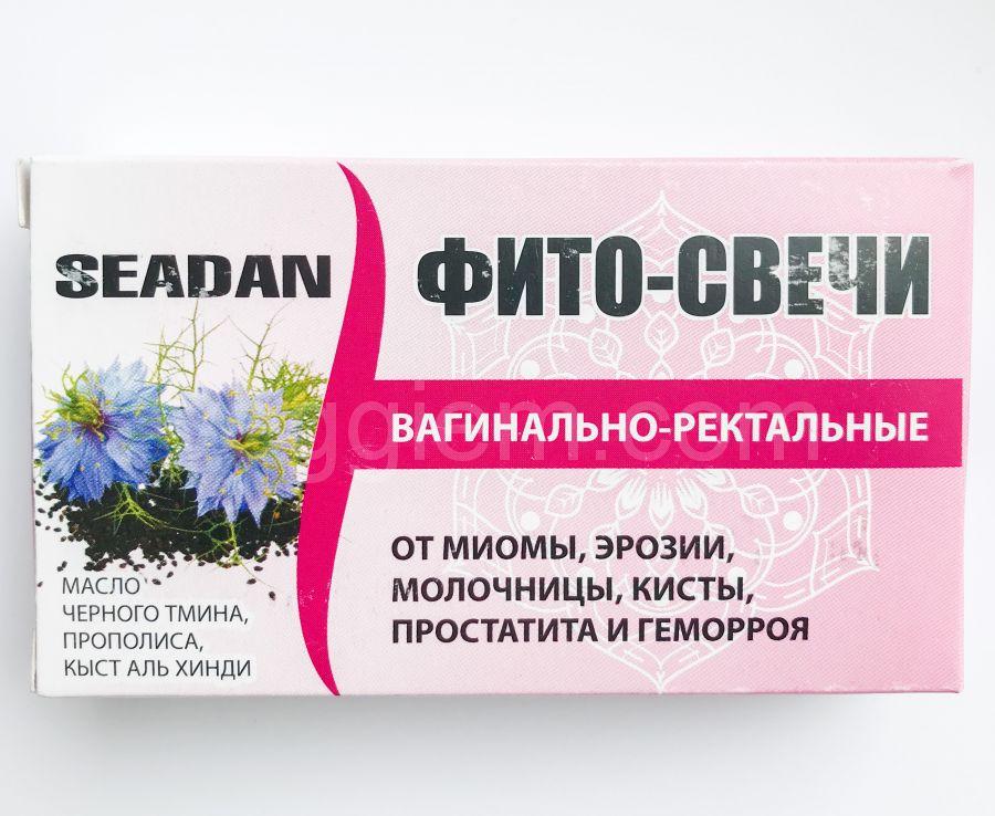 Ректально- вагинальные фито- свечи Seadan