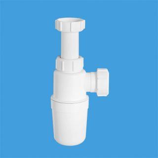 сифон бутылочный (1 1/4'x32мм) без выпуска; выход компрессионный Ду=32мм