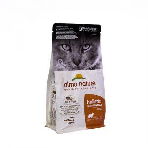 Almo Nature Для Взрослых кошек с Жирной рыбой и коричневым рисом