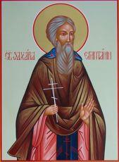 Икона Захария Египетский преподобный
