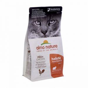 Almo Nature Для Взрослых кошек с Курицей и коричневым рисом