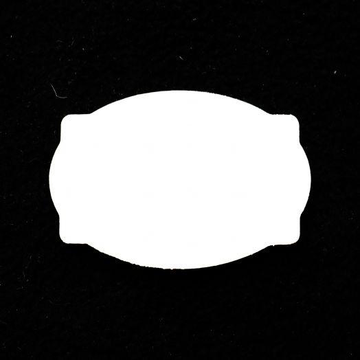 Бирка подушка 70*47 мм, из фанеры, толщина 3 мм