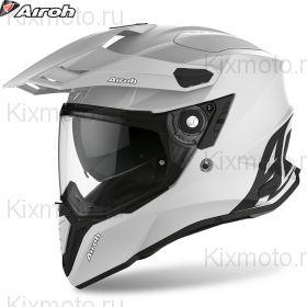 Шлем Airoh Commander, Светло-серый