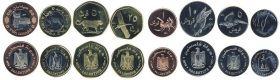 Набор монет Палестина 2010