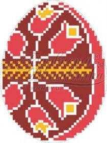 ТР363 Барвиста Вышиванка. Пасхальная Игрушка (набор 450 рублей)