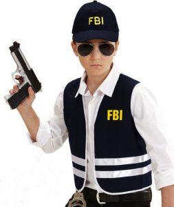 Костюм Агент ФБР (рост 140 см)