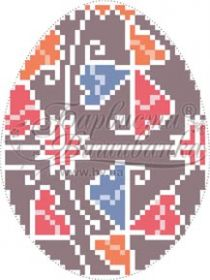 Барвиста Вышиванка ТР358 Пасхальная Игрушка схема для вышивки бисером купить оптом в магазине Золотая Игла