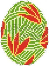 Барвиста Вышиванка ТР365 Пасхальная Игрушка схема для вышивки бисером купить оптом в магазине Золотая Игла