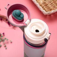 Бутылка для воды Fashion 500 мл (цвет розовый)_6