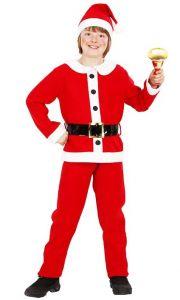 Костюм детский Санта (рост 139 см)