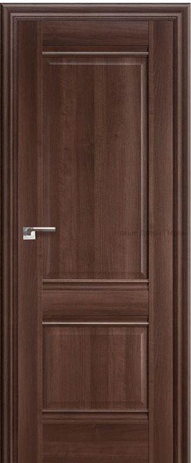 1Х Орех Сиена - глухая - PROFIL DOORS межкомнатные двери
