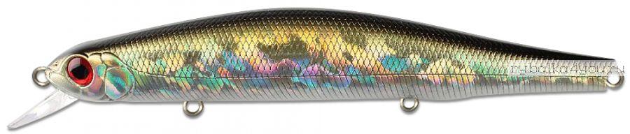 Воблер ZipBaits Orbit 130SP-SR 133 мм / 24,7 гр / Заглубление: 1,2 - 1,8 м / цвет: 510R Silver Shad (Red Eye)