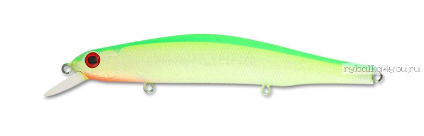 Воблер ZipBaits Orbit 130SP-SR 133 мм / 24,7 гр / Заглубление: 1,2 - 1,8 м / цвет: 998 Luminous Chartlime