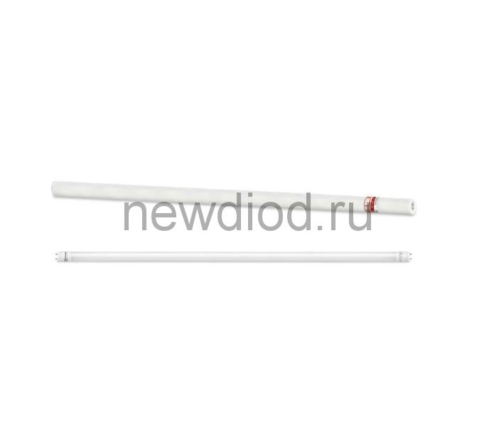 Лампа светодиодная LED-T8-М-PRO 30Вт 230В G13 6500К 2440Лм 1200мм матовая IN HOME