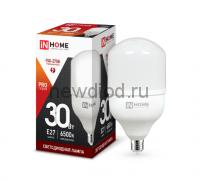 Лампа светодиодная LED-HP-PRO 30Вт 230В Е27 6500К 2700Лм IN HOME