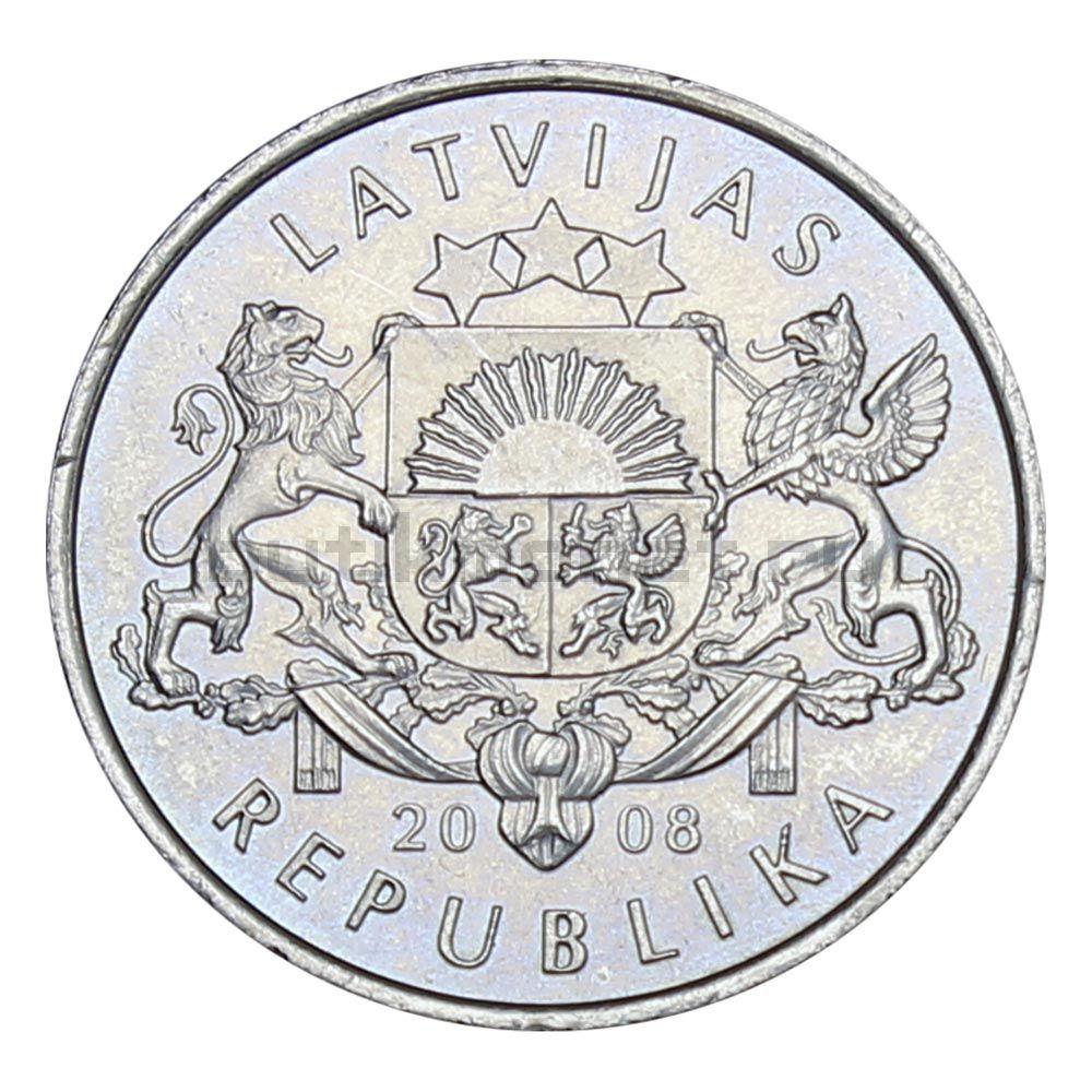 1 лат 2008 Латвия Лилия