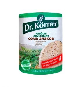 Хлебцы Dr.Korner Семь злаков 100г