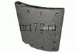 Накладки тормозные зад  (1 шт.) STD Volvo 410x200 4