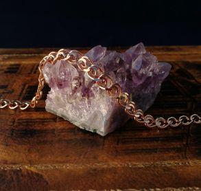 """Позолоченный браслет, плетение """"сердце"""", 6 мм (арт. 250201)"""