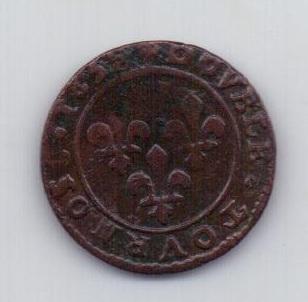 2 турнуа 1639 года XF Франция