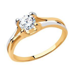 Кольцо из золота 018390 SOKOLOV