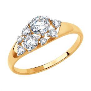 Кольцо из золота 81010458 SOKOLOV