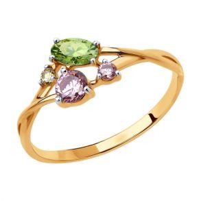 Кольцо из золота 81010460 SOKOLOV