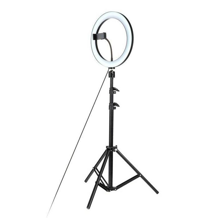 Кольцевая светодиодная лампа с штативом Ring Fill Light, 26 см