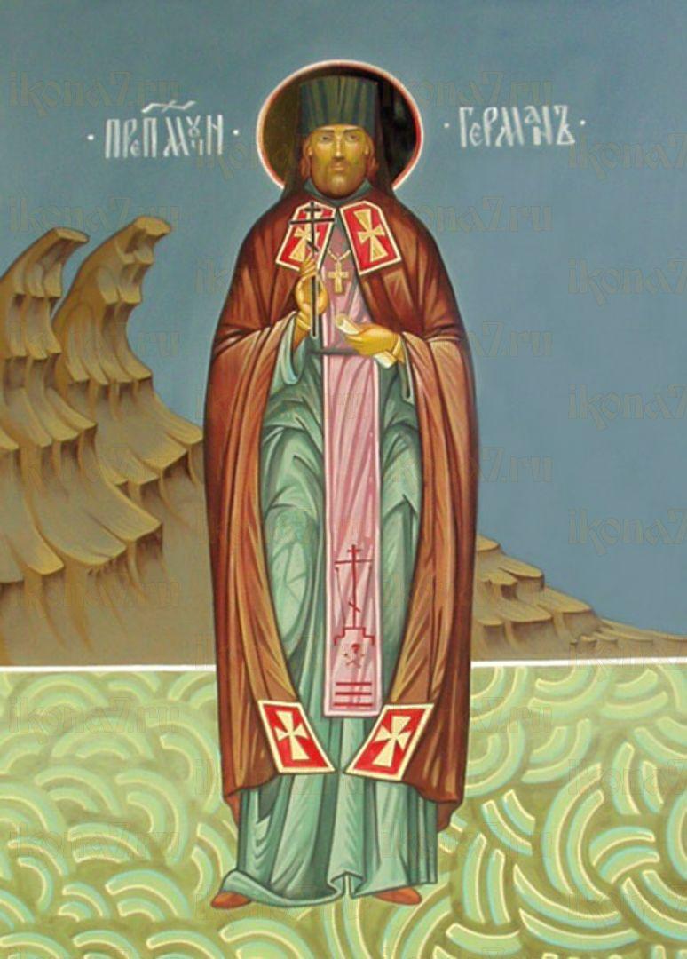 Икона Герман Полянский преподобный