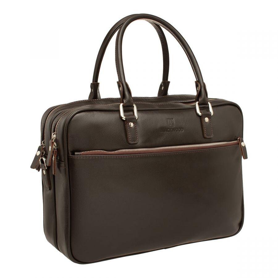 Деловая сумка BLACKWOOD Langley Brown