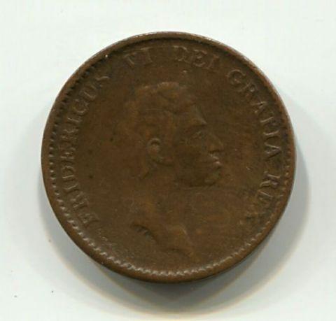 1 скиллинг 1813 года Дания