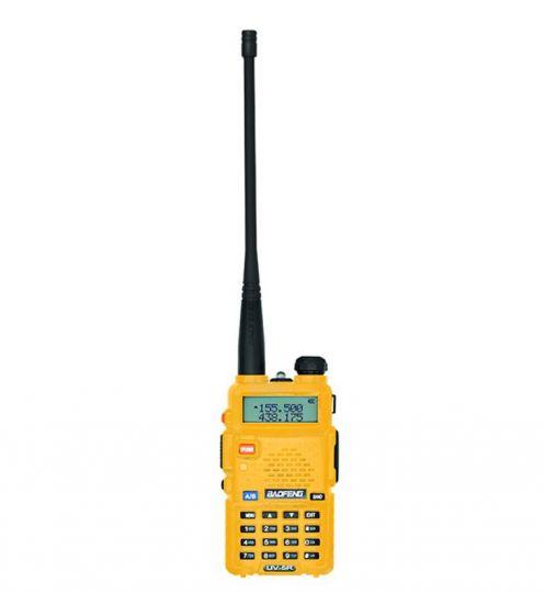 Радиостанция Baofeng UV-5R желтая 7 км