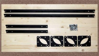 Полка стеллажа (комплект) 900х450 - STL-S945